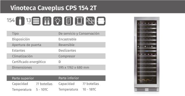 Ficha de producto Caveplus CPS 154 2T