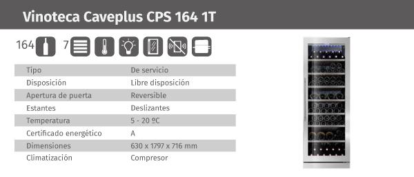 Ficha de producto Caveplus CPS 164 1T