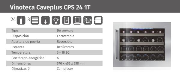 Ficha de producto Caveplus CPS 24 1T