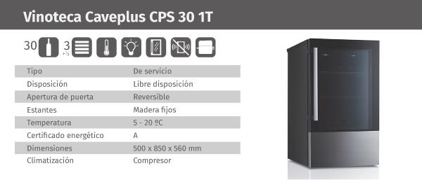 Ficha de producto Caveplus CPS 30 1T