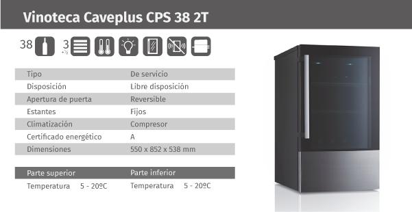 Ficha de producto Caveplus CPS 38 2T