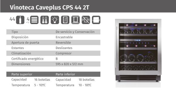 Ficha de producto Caveplus CPS 44 2T