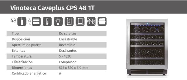 Ficha de producto Caveplus CPS 48 1T