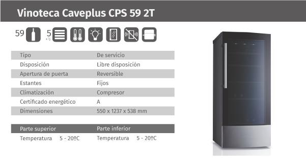 Ficha de producto Caveplus CPS 59 2T