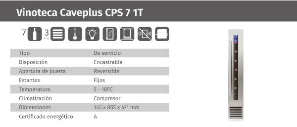 Ficha de producto Caveplus CPS 7 1T