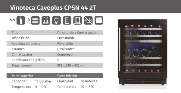 Ficha de producto Caveplus CPSN 44 2T