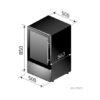 Vinoteca Caveplus CPS 30 1T Dimensiones