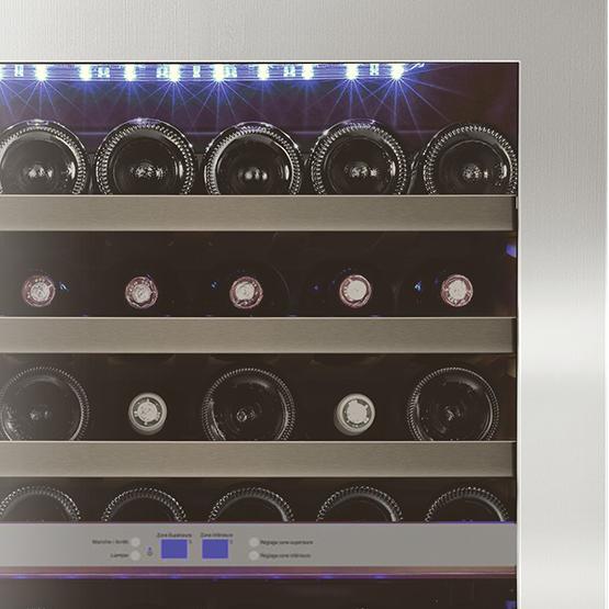 Vinoteca Caveplus CPS 50 2T Detalle
