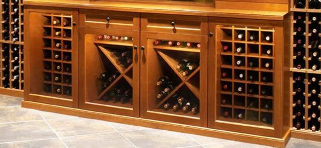 Muebles vinotecas vinoteca artesanal ideal decoracion - Vinotecas de madera ...