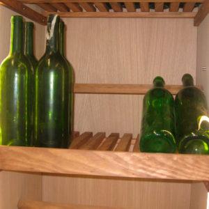 Mueble para vinos muebles para quesos muebles para jamones for Mueble para botellas