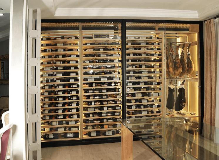 Montaje de vinotecas a medida madrid y resto de espa a - Como montar una vinoteca ...
